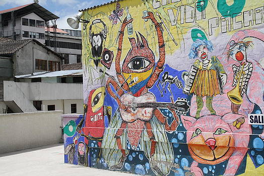 Quito Mural 2 by Allison Walker