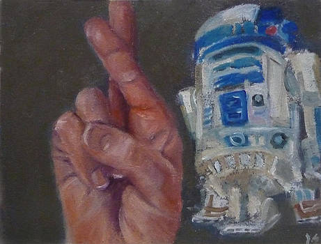 R is for R2D2 by Jessmyne Stephenson