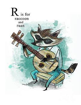 R is for Raccoon by Sean Hagan