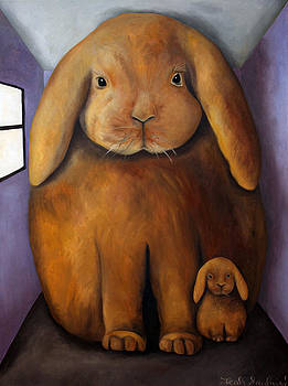 Leah Saulnier The Painting Maniac - Rabbit