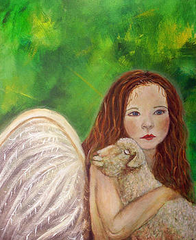 Rachelle Little Lamb The Return To Innocence by The Art With A Heart By Charlotte Phillips
