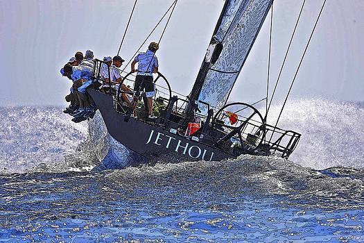 Herb Paynter - Racing Yacht