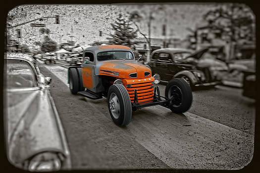 Rad Orange Truck by Koji Kanemoto