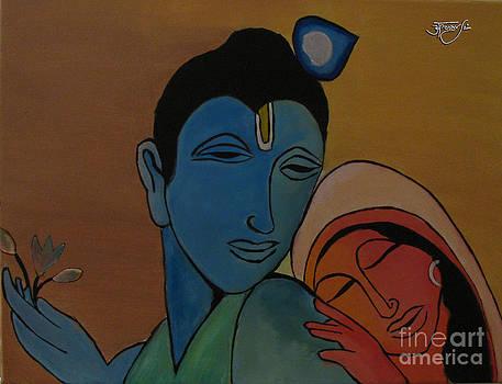 Radha Krishna - Always with you by Apoorv Jain