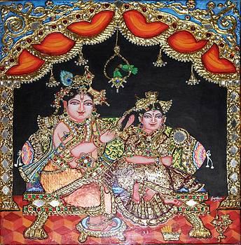 Radha Krishna by Jayashree