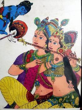 Radhe Krishna  by Mukul Dhankhar