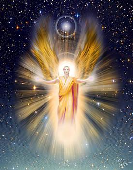 Endre Balogh - Radiance Angel Gold Tone