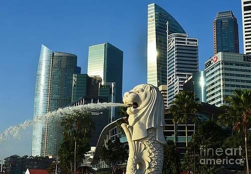 Radiant Marina Bay Morning by Greg Cross