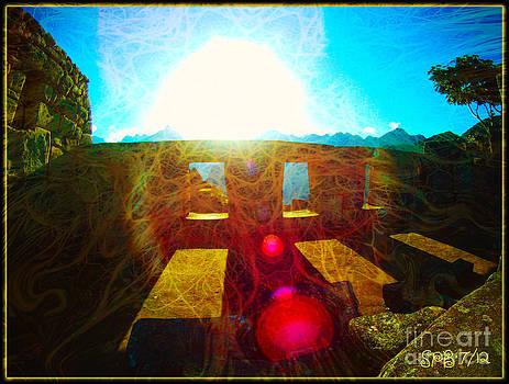 Radiation at Machu Picchu by Shawn  Bowen