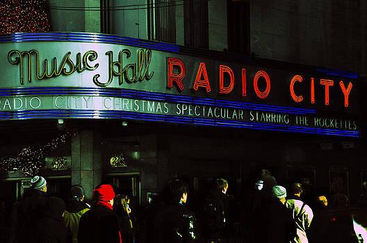 Radio City Music Hall by Donna Betancourt