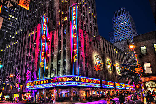 Radio City Music Hall Landscape View by Randy Aveille