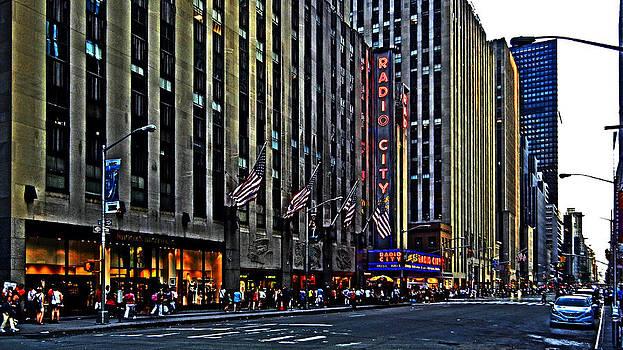 Bill Swartwout Fine Art Photography - Radio City Music Hall NYC