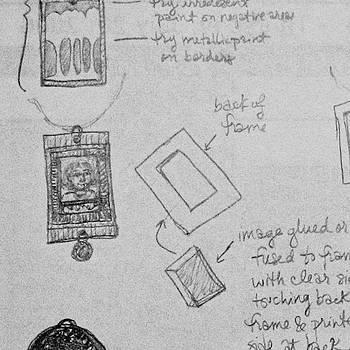 Sandy Tolman - Radom Project Plans Scribble Detail