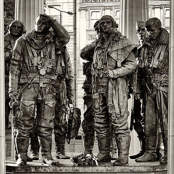 RAF Bomber Command memorial by Brian Orlovich