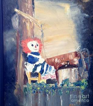 Raggedy Ann at Hilltop by Phyllis Norris