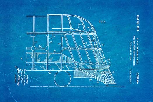 Ian Monk - Ragsdale Pioneer Zephyr Train 4 Patent Art 1941 Blueprint