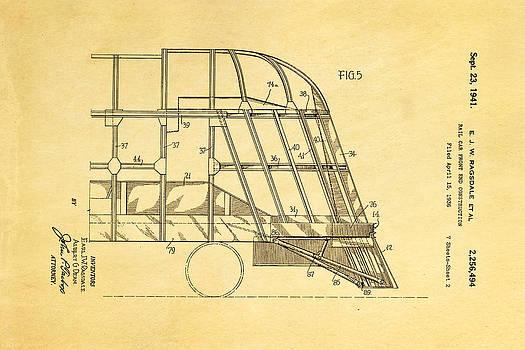 Ian Monk - Ragsdale Pioneer Zephyr Train 4 Patent Art 1941