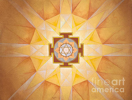 Rahu Yantra by Christa Eppinghaus