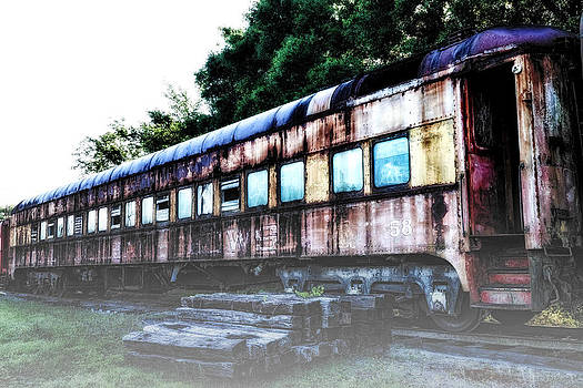 Rail Car 58 in HDR by Michael White