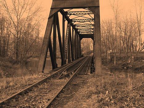 Railbridge by Geoffrey McLean