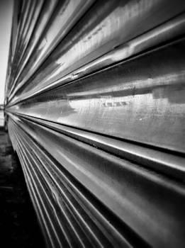 railroad car in Atchison Kansas. by Dustin Soph