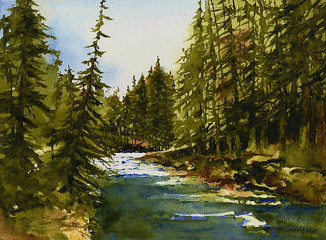 Railroad Creek by William Beaupre