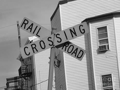 Railroad Crossing by Karolina Olszewska