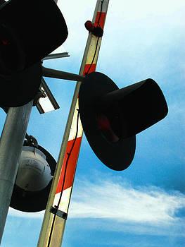 Railroad Crossing by Oscar Alvarez Jr