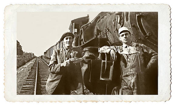 Railroad Men by Susan Leggett