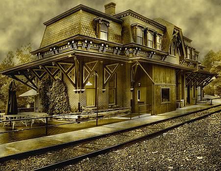 Railroad station by Dave Hrusecky