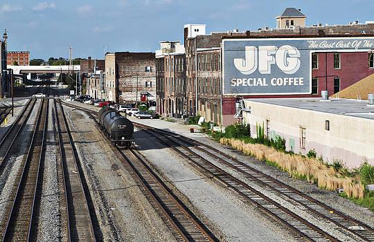 Sharon Popek - Railroad Tracks