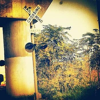 Railroad X-ing by Rebecca Kowalczik