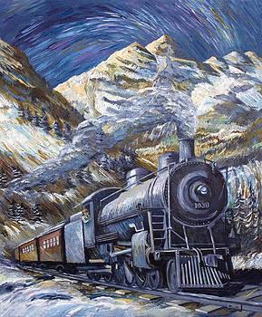 Railroading Over the Rockies by Paula Blasius McHugh