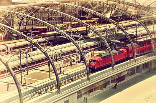 Railway station by Gynt