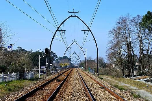 Railway Tracks by Bishopston Fine Art