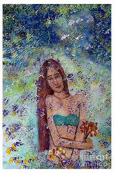 Rain of Flowers by Joseph Wetzel