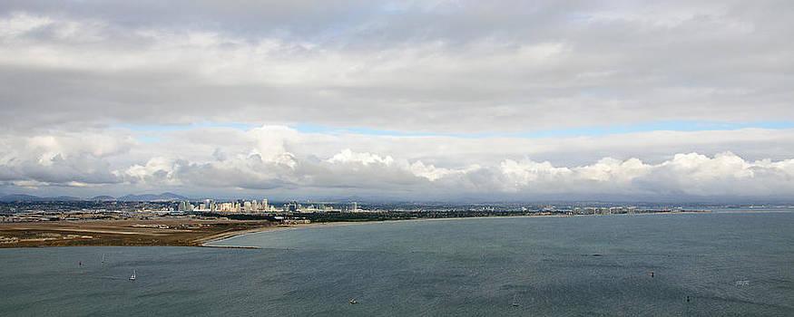Rain over San Diego by James Blackwell JR