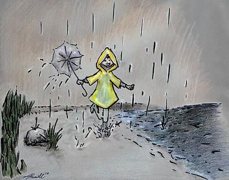 Rain Puddles by Tanya Hamell