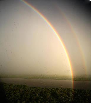 Rain Rainbow by Carol Kinkead