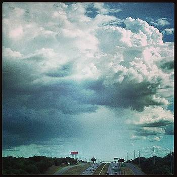 #rain Shower! #clouds #sky by Greta Olivas