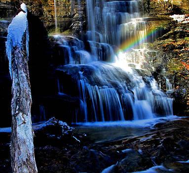 Matthew Winn - Rainbow At Station Cove Falls