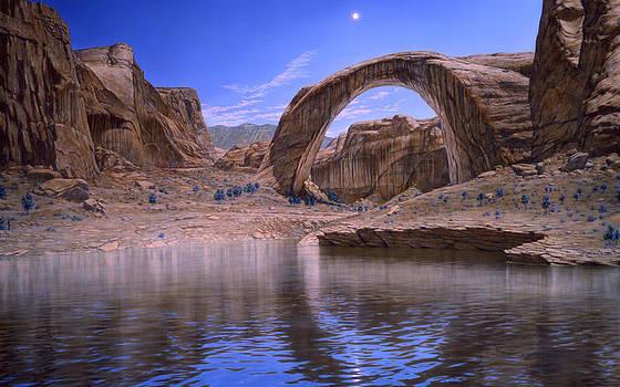 Rainbow Bridge by Loren Salazar