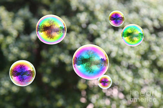 Rainbow Bubbles by Suzi Nelson