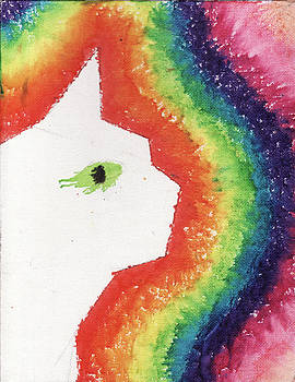 Rainbow Cate by Ashley King