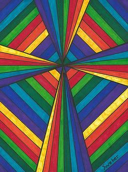 Rainbow Cross by Susie Weber