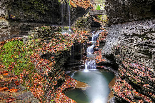 Rainbow Falls by Terry Cervi