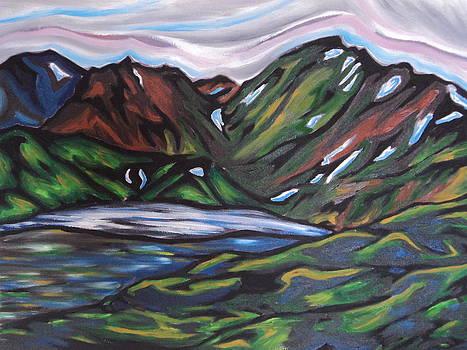 Rainbow Mountains by Erin Wildsmith