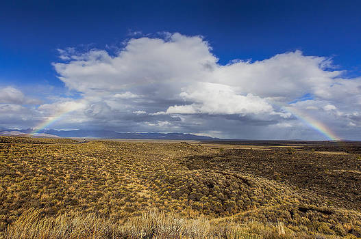Rainbow Over Craters of the Moon by Paul W Sharpe Aka Wizard of Wonders