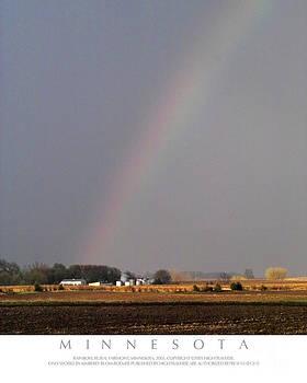 Rainbow Over Farm by Kimberly Blom-Roemer