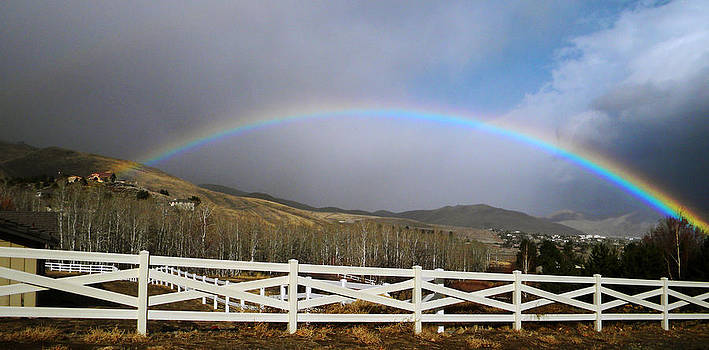 Frank Wilson - Rainbow Over Horse Ranch